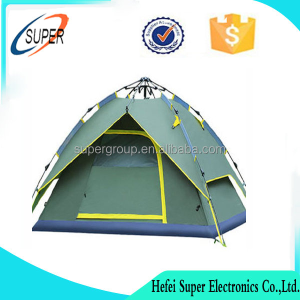 Camping 3-4 Person Thicken 600D Oxford Outdoor Hiking Tent