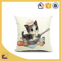 Best Quality Cheap Cartoon Printing Pillow Case Back Support Cushion Cover