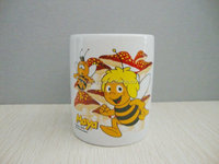 ZIBO XINYU XY-0858 Cartoon Design Gifts or Souvenir Ceramic Cup for Children