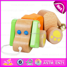 2016 newest wooden jumping animal toy,top fashion baby wooden jumping animal toy,wholesale wooden jumping animal toy W05B103
