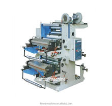YT reliable system automatic two color flexo label printing machines