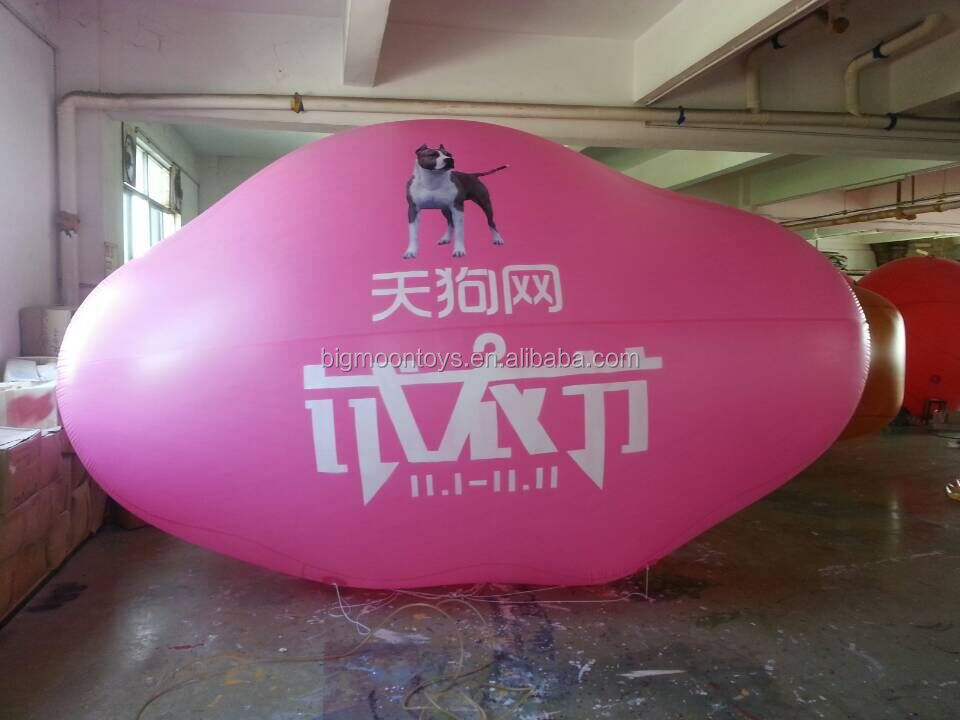 Inflatable floating advertising helium balloon/ inflatable cloud sky balloon