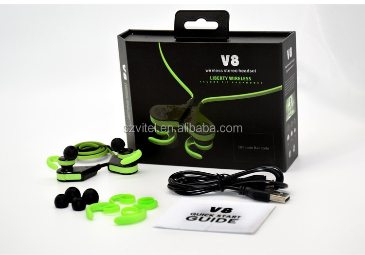 Magnet Wearable V4.0 Wireless Earphones for Samsung