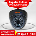 Classic Black Dome Camera HD Megapixels 720P IR CCTV 3.6mm Lens Camera 1/4 CMOS 7102+H42 CCTV IP Camera