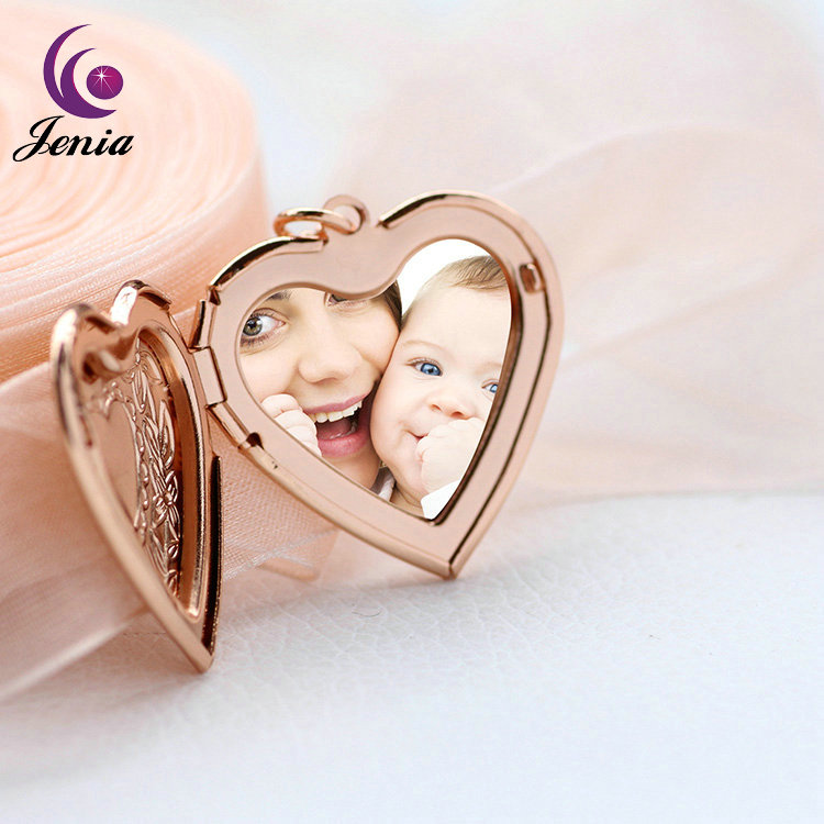 Jenia Best Quality Pendant Jewelry Gold Plated Locket Designs Gold Pendant Necklace
