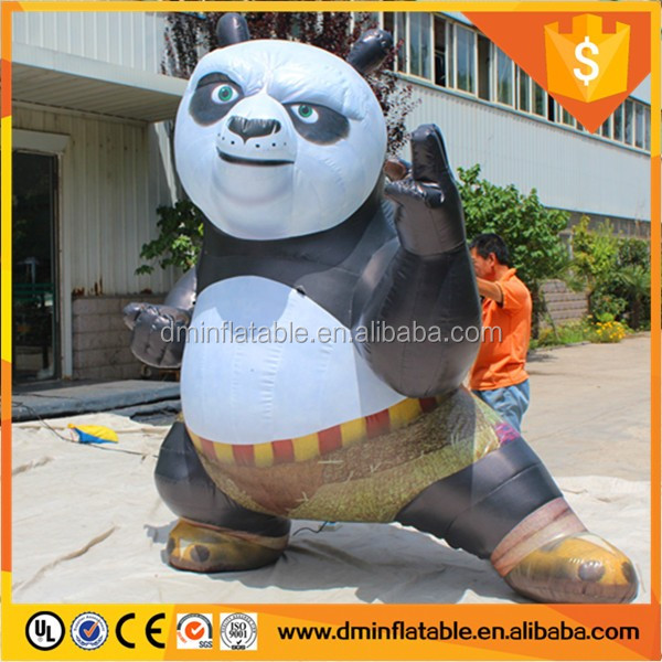 From the actual factory figure inflatable kung fu panda