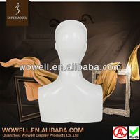 The Leader Factory Of Mannequins In China Window Display Mannequin head