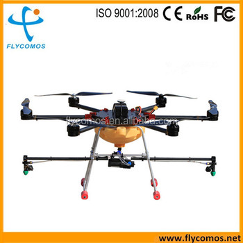 5L agricultural spraying drone crop sprayer with battery operated knapsack
