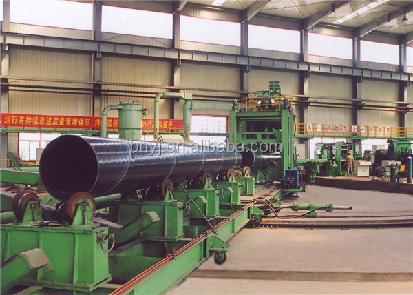 Spiral Welded Steel Pipe Production Line Spiral Machine (SSAW)