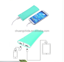 2018 Wholesale oem/odm portable power bank 10000 mah can provide diffrent volume to U