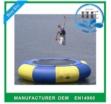 Cheap inflatable water trampoline, inflatable trampoline for adult