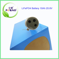 2000 cycle times 25.6v 10ah lifepo4 high power battery