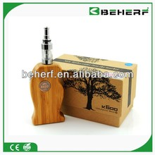 2013 Best Quality And Cheap Price No Flame E-cigarette K600 Wood Mod