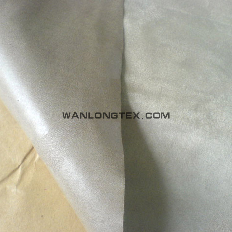 Adhesive products label printing suede fabric for packing material