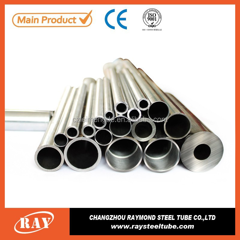 SAE4130 mechanical properties st55 cylinder steel tube