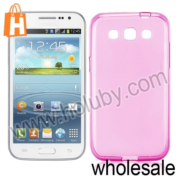 Frosted Solid Color Protective TPU Back Case for Samsung I8552 Galaxy Win