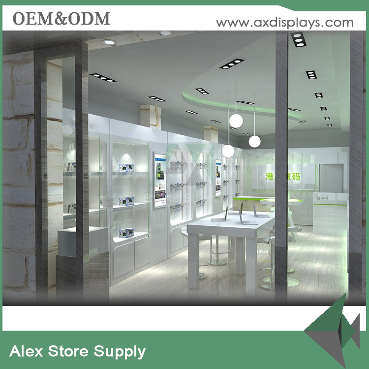 mobile phone shop interior design
