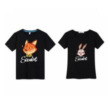 high quality cute cartoon printed t shirt wholesale
