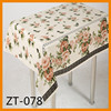 printed plastic tablecloth rolls with non-woven backing