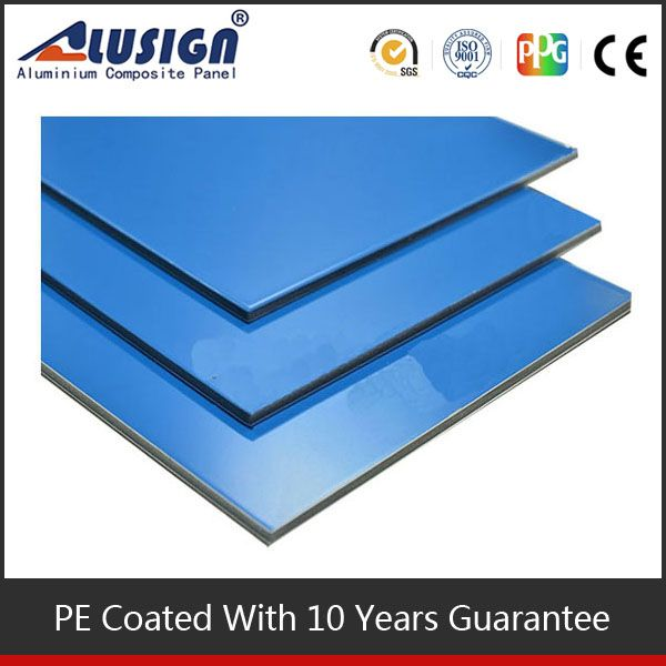 Alusign wide selection interior curtain wall covering acp panel