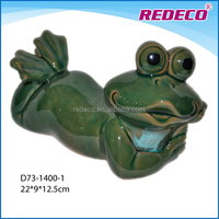 Ceramic frog figurine for sale