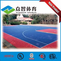 Excellent Quality outdoor portable basketball court sports flooring