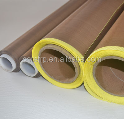 PTFE coated fiberglass adhesive mat for thermoplastic industry