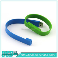 Promotion Wrist band/bracelet Usb Flash Drive