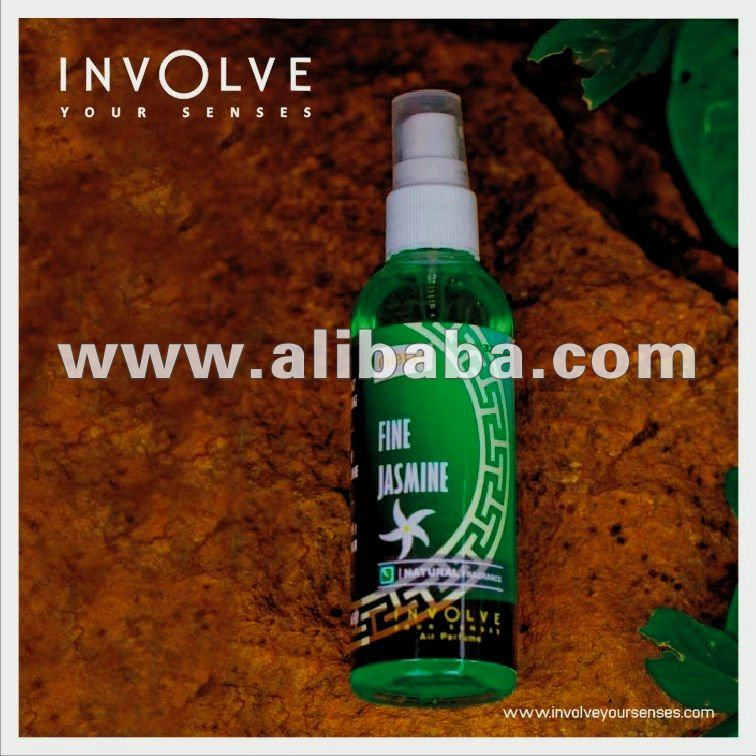 Natural Jasmine Fragrance : Spray Car Freshener MADE IN INDIA : Involve Your Senses