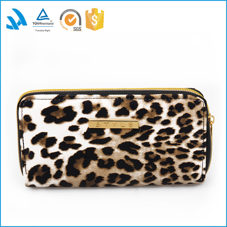 Factory Sale Vogue Fashion High Quality Women Wallet PU Leather Female Purse