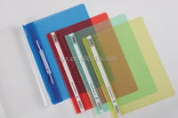 A4 size pp lever clip file colored pp cover report file a4 size clip file
