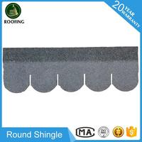 Hot selling Round shingle asphalt roof,roofing shingles prices