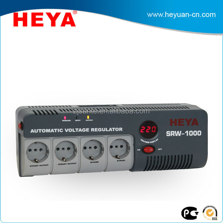 1kva relay type automatic ac voltage stabilizer for computer