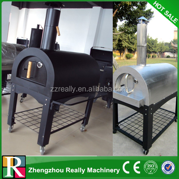 outdoor factory direct sale wood-fired charcoal pizza oven machine