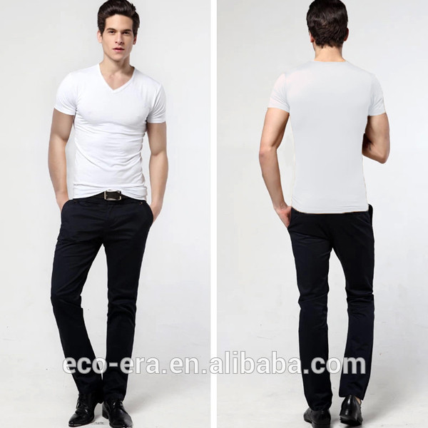 Latest Fashion 100% Bamboo T Shirts Cheap Wholesale Custom Shirt