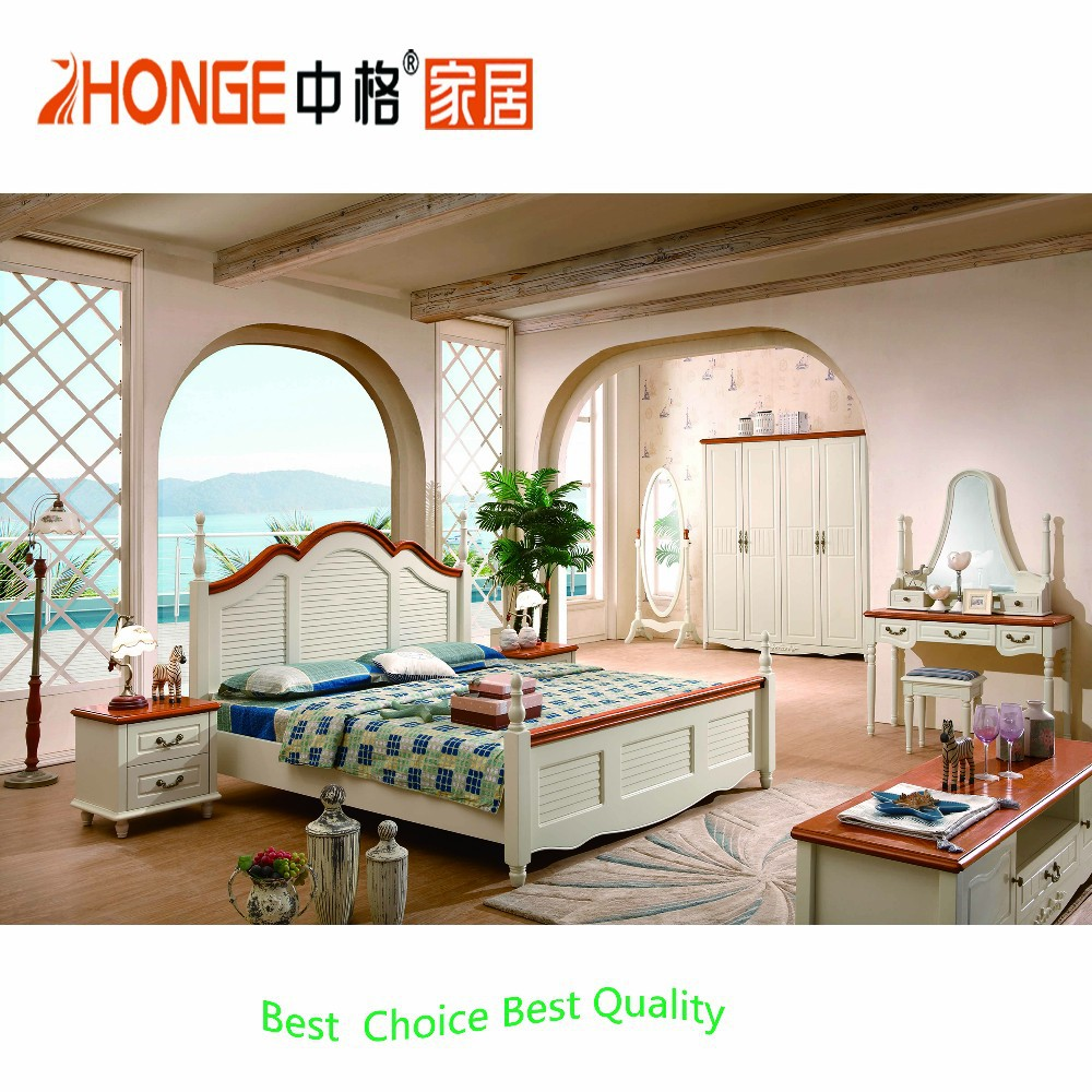 7A009# bedroom furniture MDF material Korea style bedroom set