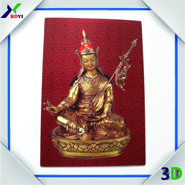 Indian god 3D lenticular picture with frame