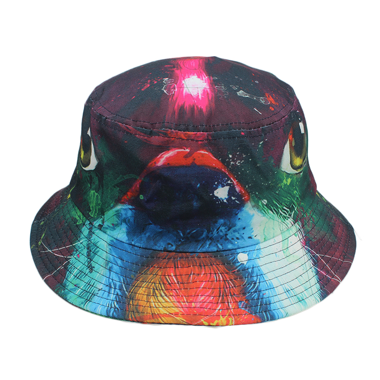 custom plain cotton cheap bucket hat