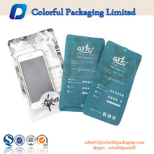 Factory supply PET/OPP material cell phone accessories packaging plastic bags made in China