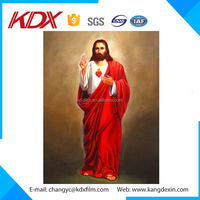 Home Decoration 3D Plastic Printing 3D Picture 3D lenticular Picture of Jesus Christ