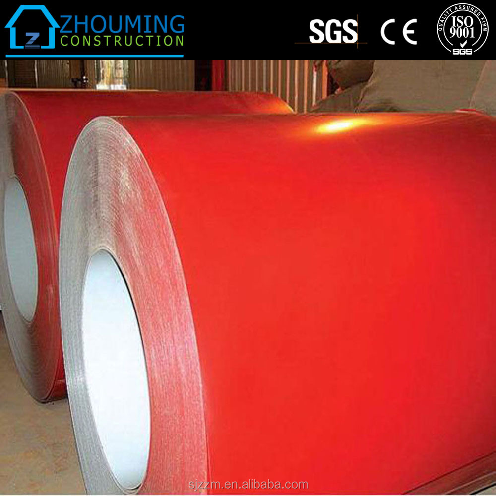 top quality EN10169 ASTM A755 Pre-painted Aluminum zinc steel coils/ color steel coils in sheets and plates/PPGI