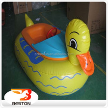 China factory kids water boat paddle boat electric bumper boat for sale