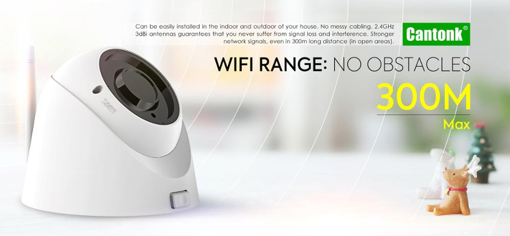 Wifi 2p2 wireless 2mp backup ip camera