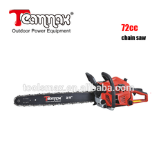 New arrive easy control professional 72cc gasoline chain saw for family and farm