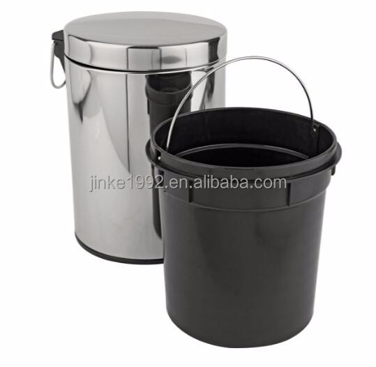 JINKE Cast iron customized handmade recycling dustbin for hotel