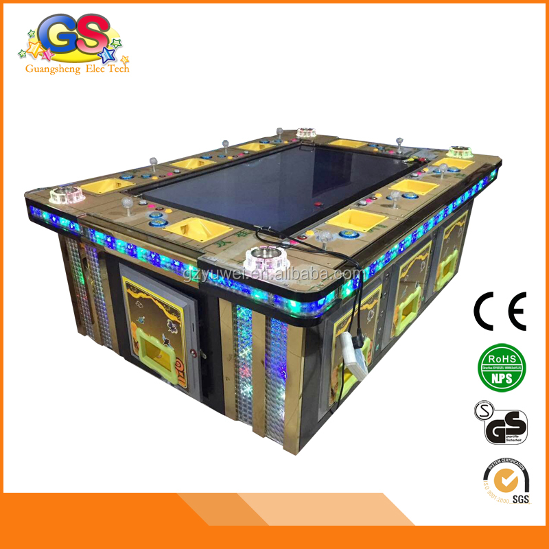 IGS coin operated video shooting arcade 3D Red Dragon fishing game machine fish hunter games