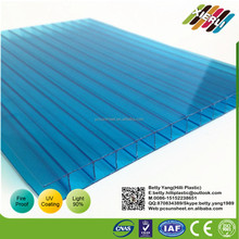 Suzhou Agricultural Technology Polycarbonate hollow sheet with low price, China corrugated plastic roofing sheets for greenhouse