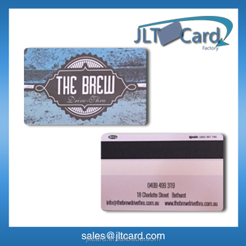 CMYK printing rfid hotel key card with magnetic stripe