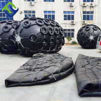 Tire chain net type Q235 fittings/accessories floating pneumatic fender with optional flange