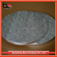 "smooth edge 1/2""thick corrugted paper cake circles"